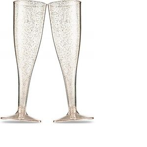 Other - 15 Sparkly Champagne Glasses
